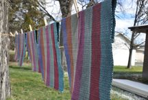 Weaving with Brown Sheep yarns / Inspiration and project ideas for weaving
