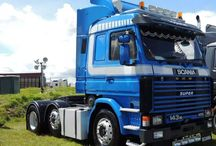 Legendary & Oldtime SCANIA Trucks (3) / Ancient legends of the road,eternal Queens,that left their legacy in the History of World Road Transports.