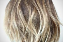 Balayage Hair Short Blonde Ombre