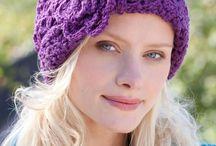 Crochet hats  &  earwarmers