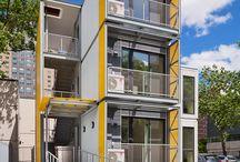 longitudinal buildings