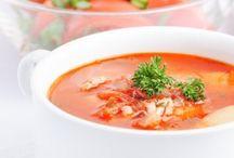 Kalorienarme Suppen am Abend