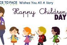Happy Children's Day / Wishing You All That Special Childhood which has memories of sweet innocence and learning