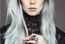 Platinum Hair. / by MWR Collection
