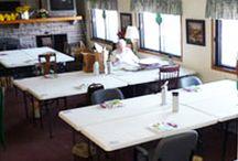 Scrapbook Retreat / Our Scrapbook, quilt, crafters retreats.