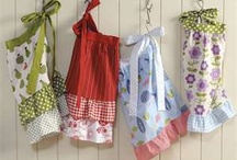"""Aprons / """"You can never have too many aprons or too many memories."""""""