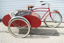 Bicycle sidecar.