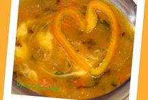 Супы-пюре / Самые насыщенные супы, самые сытные и калорийные...