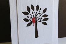 Cards I Can Do - Holidays / I have all of the supplies to make a reasonable or inspired-by replica of these cards.