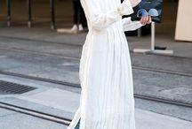 Vestido con pantalones / Arriésgate luciendo tus vestidos favoritos con pantalones ¿te atreves? . http://chezagnes.blogspot.com/2017/06/dress-over-pants.html . #moda #tendencias #streetstyle #newpost #fashion #moda #fashionblogger #ChezAgnes