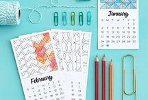 Journal, calendar, planner