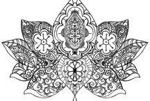 Lotus mandala flower