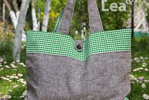 Upcycled Handbags / Upcycled bags, shoulder bags, cross body purses and more made by Noa & Lea