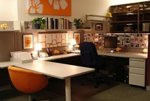 Lovely cubicle ideas / by Kayla Winters