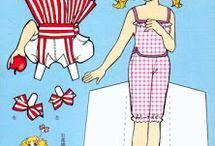 Muñecos de papel para vestir