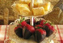 Tea Party foods