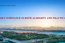 """The Hymn of God's Word """"God's Substance Is Both Almighty and Practical""""   The Church of Almighty God"""