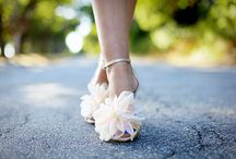 Shoes for the Bride / One pair or many? White or colour? Designer or vintage?