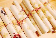 Wedding: Seating list and name tag席札 席次表