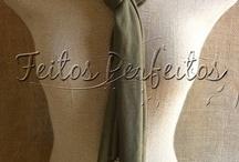 lenços colares