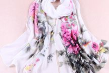 SCARVES ... / Pretty scarves that we love