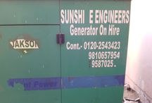 Generator on Rent Delhi