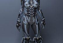 Exoskeleton hardsurface