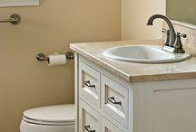 Cabin bathroom renovations
