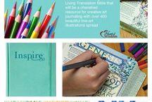 Journaling Bibles / Bibles for Journaling