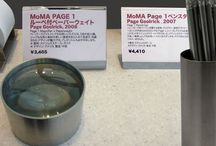 Page in the Tokyo MoMA store