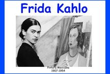 Frida Kahlo / A board full of useful resources, ideas, book recommendations to help teachers teach their students about Frida Kahlo.
