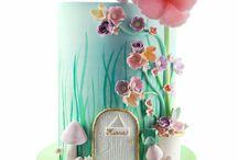Isla birthday cake