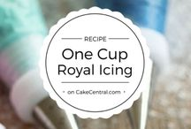 One cup royal icing