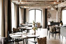 Restaurants: interiors | Ristoranti: interni