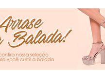 Arrase na Balada! / Confira nossa seleção de sapatos para você curtir na balada!