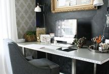 Desk Spaces & Studios / Designing lovely desk spaces for a home writing studio.