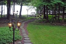Lakehouse Makeover // Landscaping and Backyard