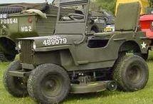 Modified lawnmower