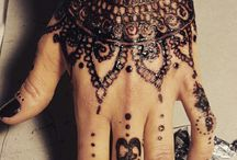 Henna handgemacht / Hier findet ihr einige Resultate meiner Henna-Experimente