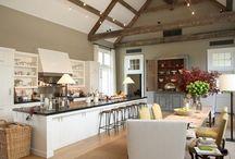 Kitchen Ideas / by Rebecca Frost Rosenberg