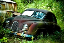 Cars - graveyard | barn find / Auto kerkhof - wrakken / by eriks fotoos