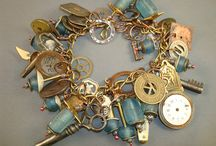Charm bracelets and necklaces / by Connie Blachut