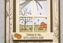 Cards - Fall, Thanksgiving / Card ideas for the Fall and thanksgiving