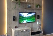 Télévision murale