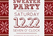 Ugly sweater party christmas