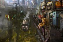 Cyberpunk / by Renso Vargas