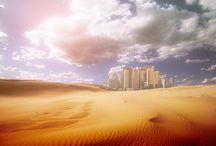 City in a desert / by Tom Evans