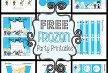 Frozen Class Party