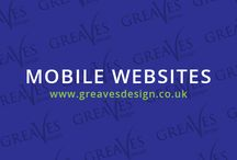 Mobile Websites / Portfolio items from Greaves Design and inspirational Mobile websites across the web. Also great examples of responsive designs.