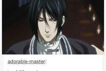 黒執事 / Sebaciel, Grelliam; Alois...   (Black Butler)